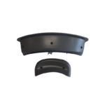 Trueform spa headrest right facing bottom view straight