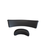 Trueform spa headrest right facing top view straight
