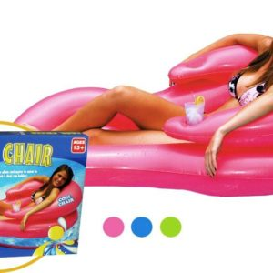 Inflatable pool chair pink cool chair and options