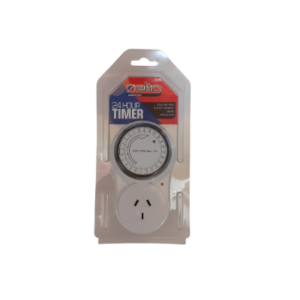 24 hour timer packaged front