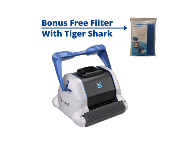 Bonus Free Filter With Tiger Shark Cleaner