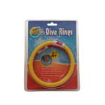 Dive Rings 4 pack red yellow green and blue