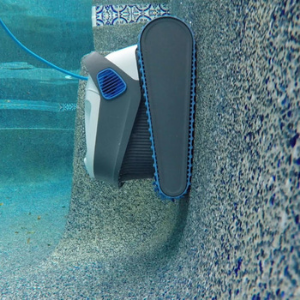 Dolphin 300 Pool Cleaner cleans pool walls