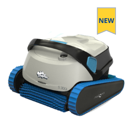 Dolphin S300i automatic pool cleaner for inground pools new model