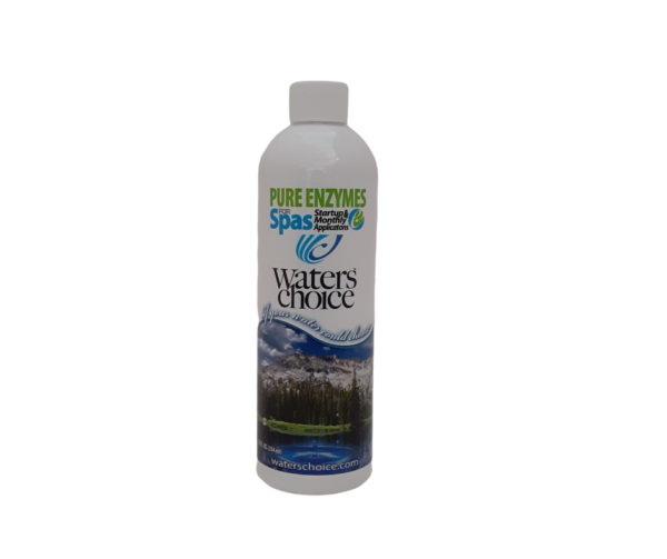 Waters Choice Pure Enzymes for Spas 354mL bottle