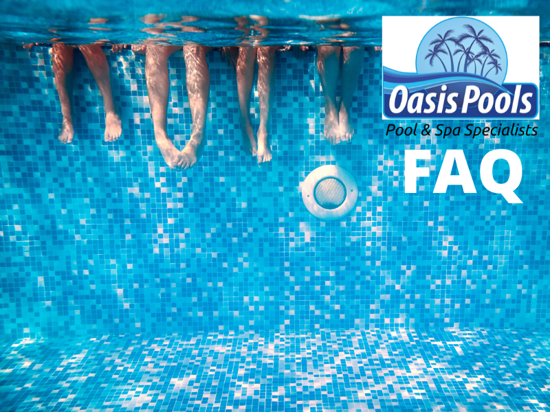 Top 10 Questions asked by Oasis Pools & Spas Customers