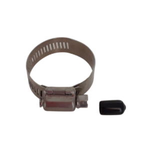 Stainless Stell Hose Clamp and Black Tip for bestway and intex pools