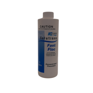 IQ Fast Floc 1L - Flocullant to turn cloudy pool water to clear pool water