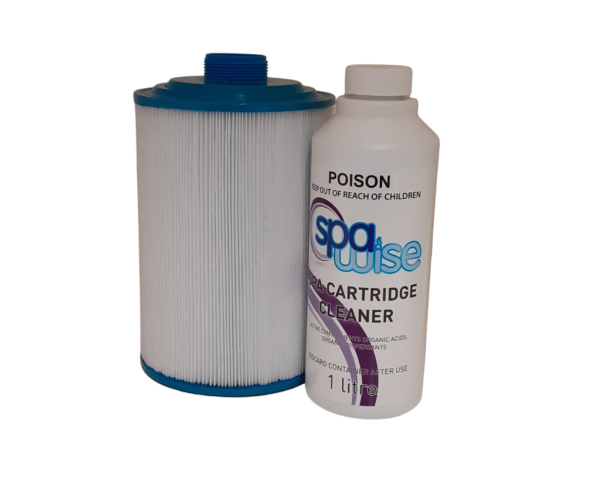 Monarch Spa Cartridge Filter MS50 and Spa Cartridge Cleaner Front