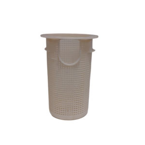 Pump Basket - Waterco AquaStream (old style) Pool Pump Basket Off White Front View