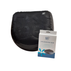 Spa Booster Seat Black with Pack