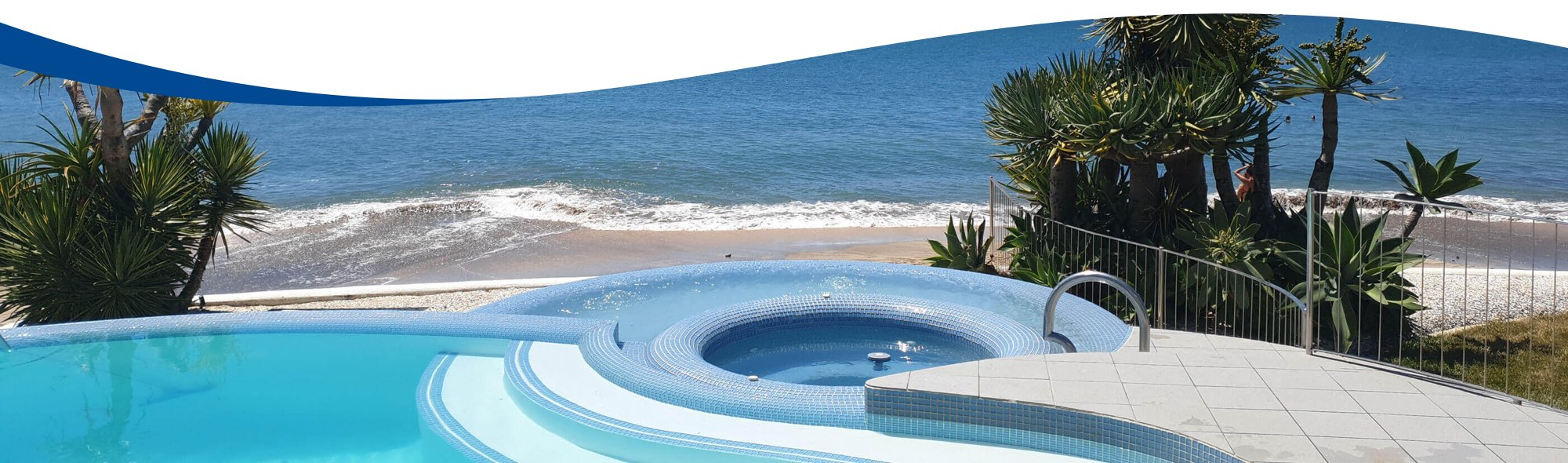 About Us - Oasis Pools are your pool and spa specialists with a store located in New Lynn - Prior Job - Beachside Pool